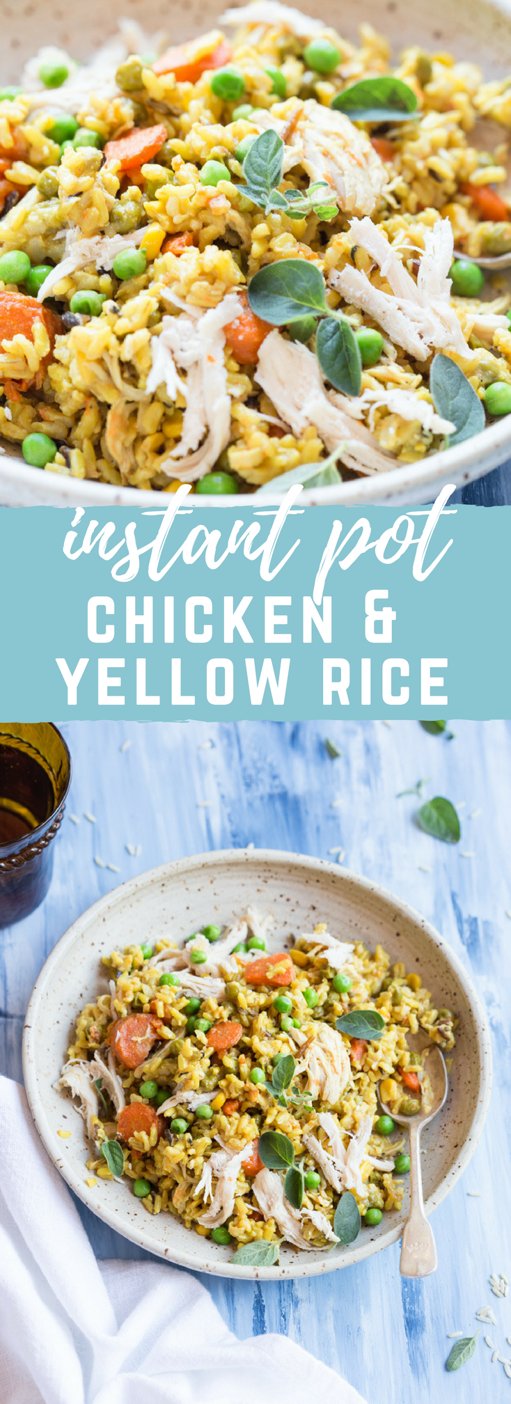 Instant Pot Chicken and Yellow Rice | a simple gluten free weeknight ...