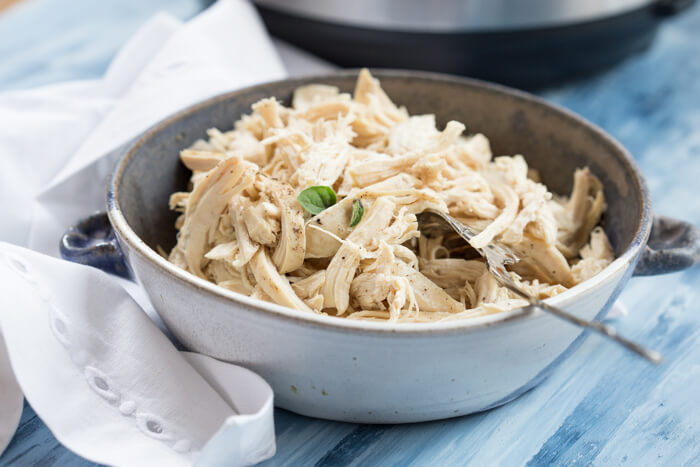 Instant Pot Easy Shredded Chicken