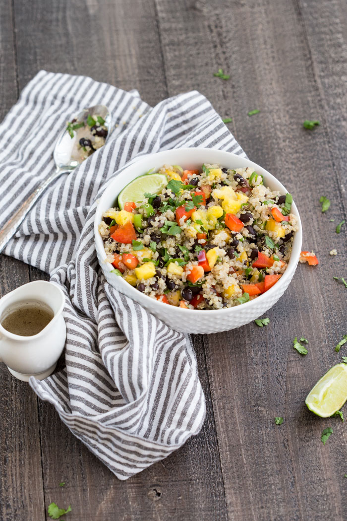Hawaiian Quinoa Bowl A Vegetarian And Gluten Free Meal