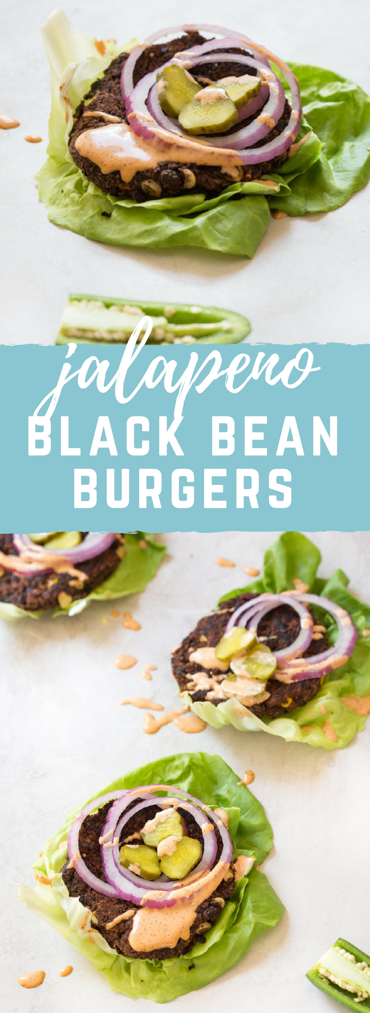 Skillet Jalapeño Black Bean Burgers... the cast iron skillet is the game changer for cooking black bean burgers especially if you're vegetarian or vegan because skillet = perfect for the grill!