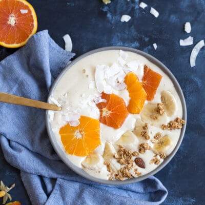 Orange Creamsicle Smoothie Bowl