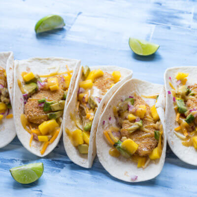 Honey Mustard Fish Tacos