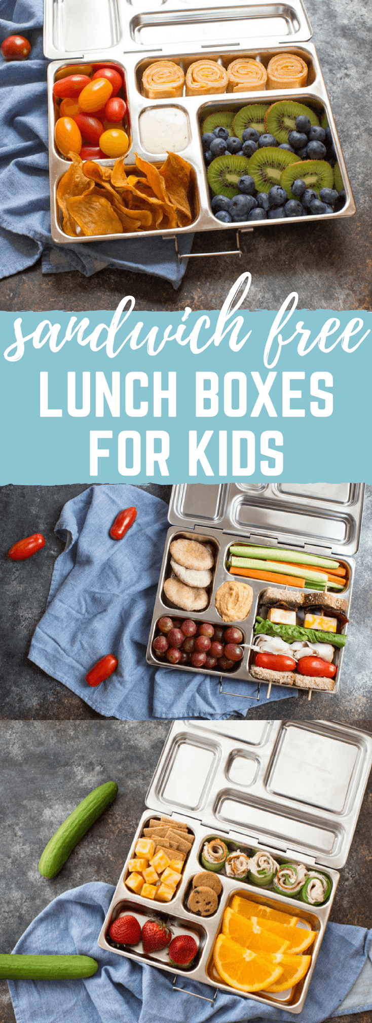 Sandwich Free Kid Friendly Lunch Box Ideas | lunches easy to meal prep