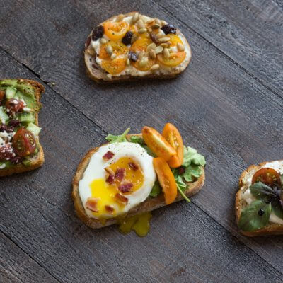 4 Yummy Ways to Add Veggies To Breakfast Toast