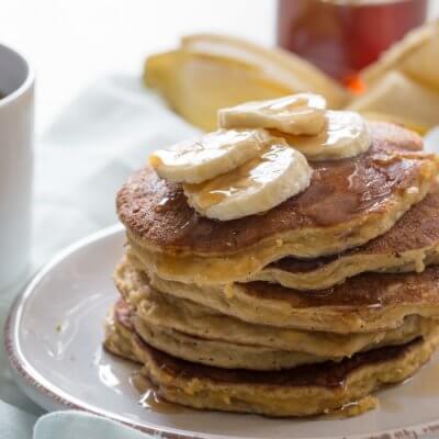 Paleo Banana Coconut Flour Pancakes