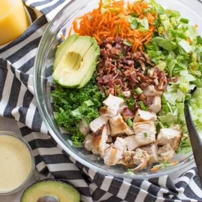 Farmhouse Chicken Chopped Salad