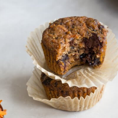 These Carrot Berry Quinoa Muffins are made with wholesome ingredients and make a yummy snack. Moist and delicious muffins loaded with carrots, berries, and quinoa balanced out with chocolate chips. YIPEE!