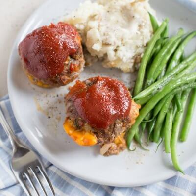 Mama's Cheesy Meatloaf Minis