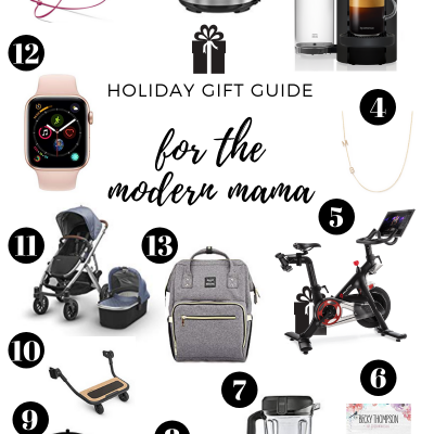 Holiday Gift Guide for Modern Moms