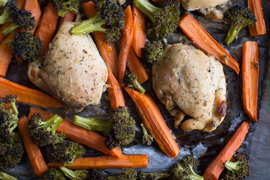 easy oven baked chicken thighs recipe