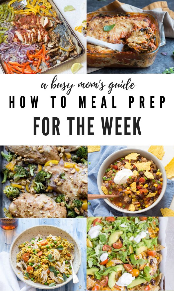 how to meal prep for the week, pictures of easy meal prep recipes