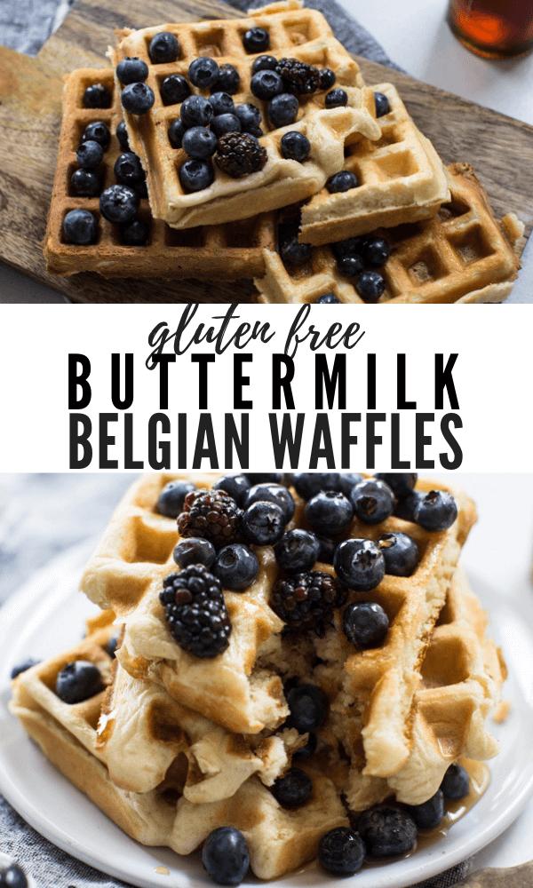 best buttermilk belgian waffles, gluten free waffles recipe