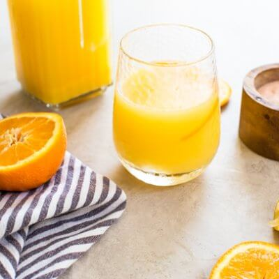 Orange Juice Sports Drink