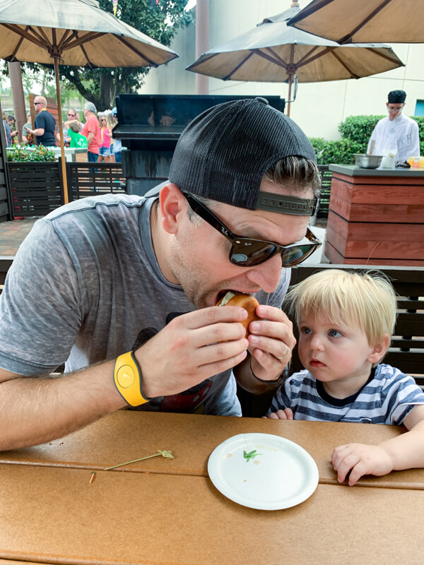 Best Place to Eat at Epcot Food and Wine Festival 2019. Plus our favorite kid friendly Epcot Food and Wine Festival menu items.
