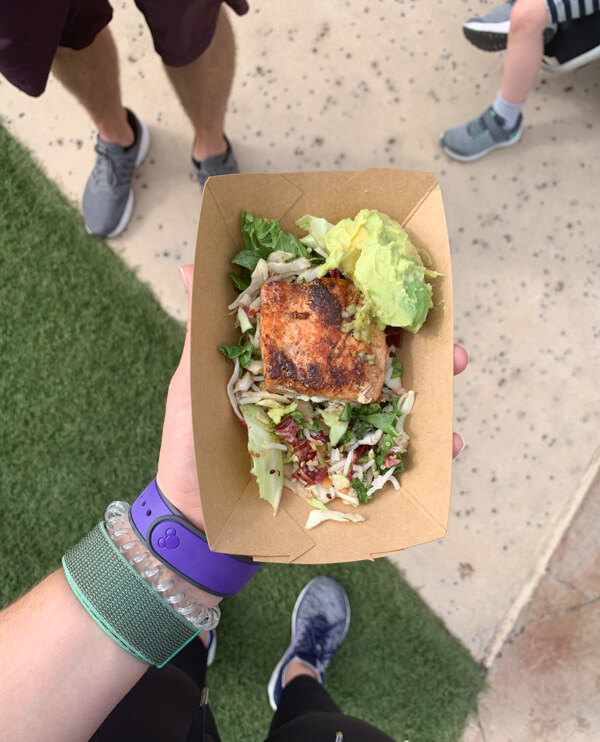 Best Places to Eat at Epcot Salmon
