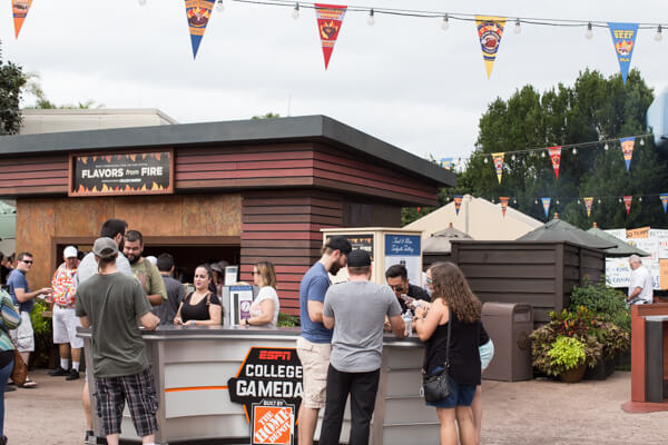 Food & Wine Festival 2019 ESPN College Gameday