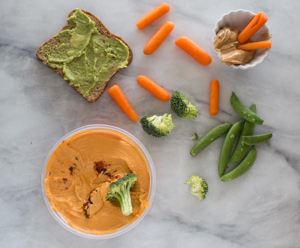 vegetable snacks kids will eat