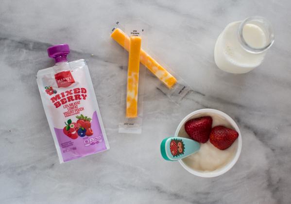 best dairy snacks for kids